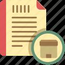description, product description, sku icon