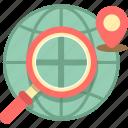 geolocation, gps, location, navigation icon