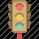 light, traffic, traffic light icon