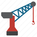 build, building, crane, equipment, harbor, industrial, industry icon