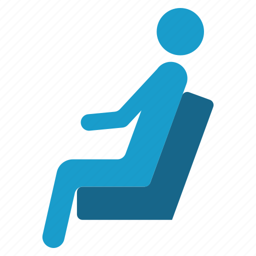 arm chair, passenger, pose, sit, sitting, taxi, waiting icon