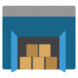 cargo, goods, logistic, products, storage, store, warehouse icon