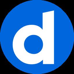 circle, daily motion, dailymotion, logo, media, network, social icon