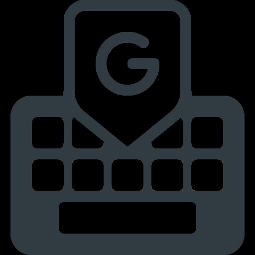 brand, brands, google, keyboard, logo, logos icon