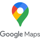 logo, maps, google