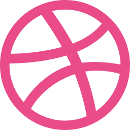 creative, designers, dribbble icon