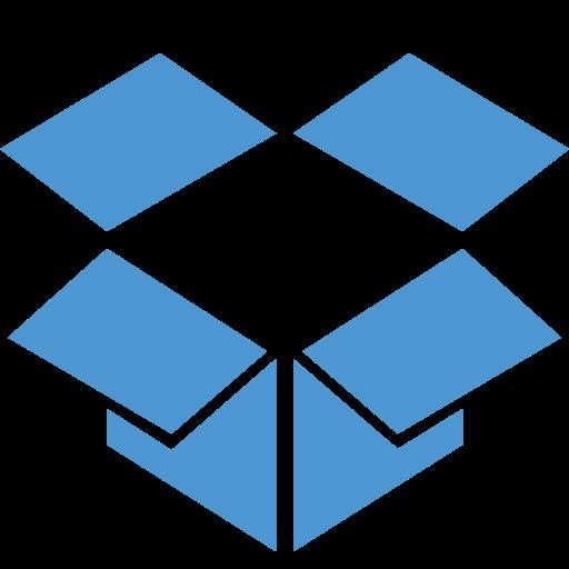 dropbox, online storage icon