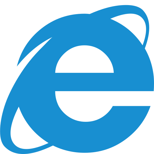 Browser explorer internet internet explorer web web Browser icon