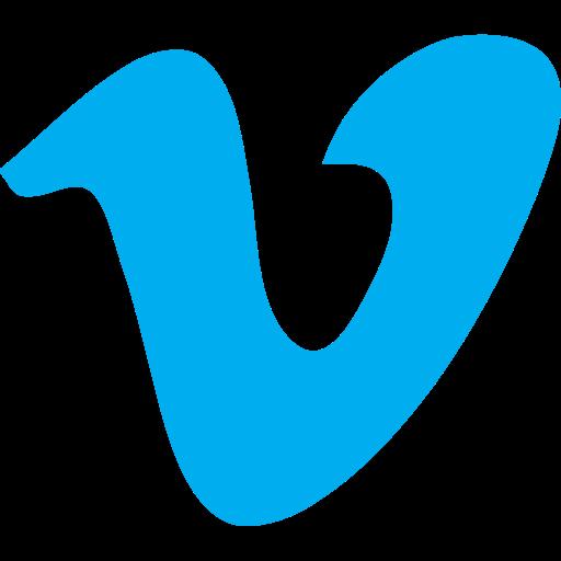 video, vimeo icon
