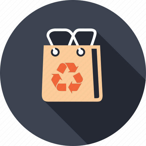 bag, business, commerce, market, recycle, shopping icon