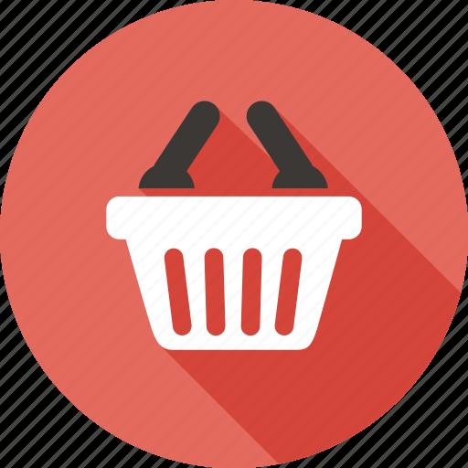 bag, basket, buy, cart, market, sale, shopping icon