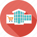 business, caddy, mall, market, shopping, supermarket icon
