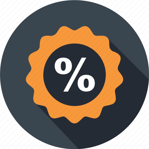 business, mall, percent, price, shopping, signature, tag icon