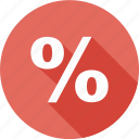 business, finance, percent, price, sale, shopping, sing icon