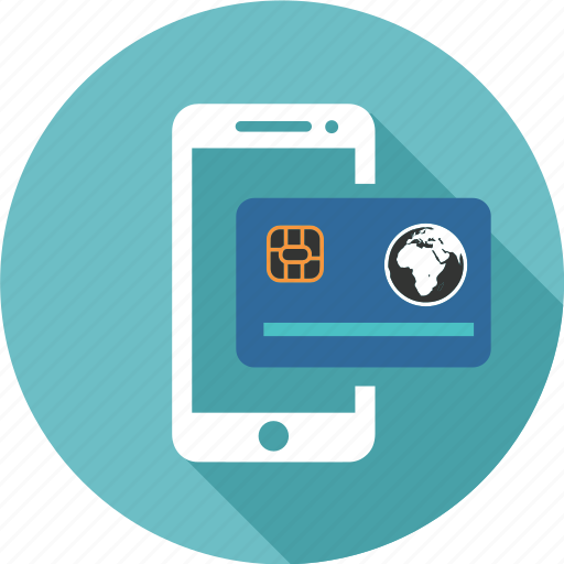 card, cloud, computing, credit, online, shopping, smartphone icon