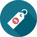business, dollar, price, promotion, sale, shopping, tag icon