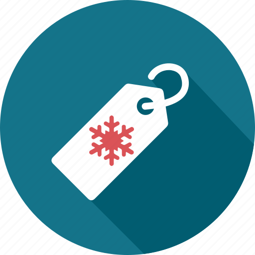 business, price, promotion, sale, shopping, snow, tag icon