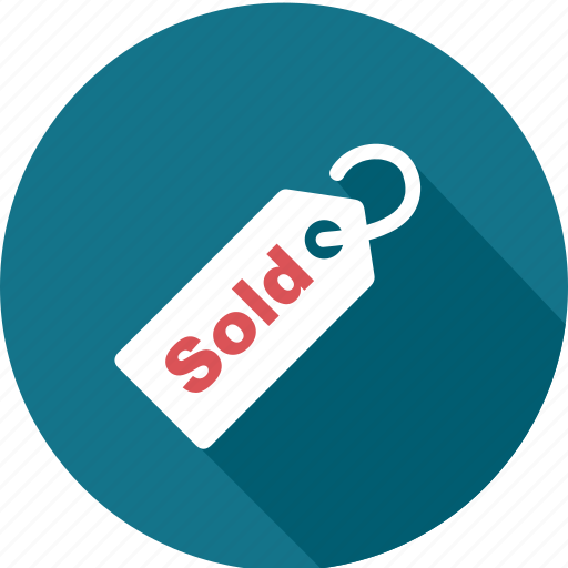 business, price, promotion, sale, shopping, sold, tag icon