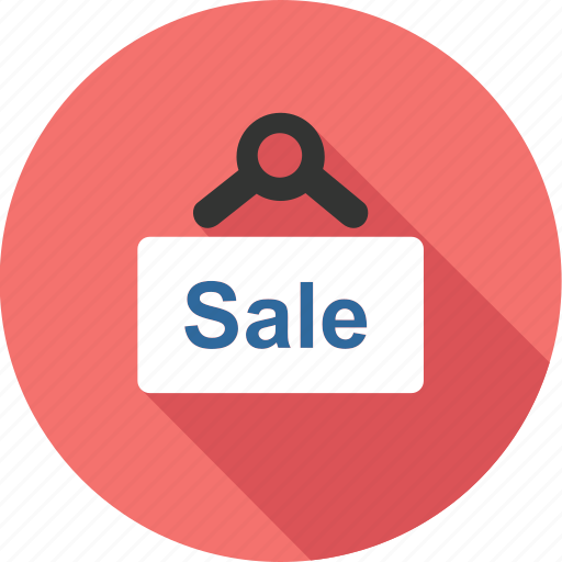 banner, board, business, market, sale, shopping, tag icon
