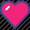 favorite, heart, love, valentine, valentines icon