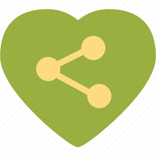 Connection, heart, love, romance icon - Download on Iconfinder