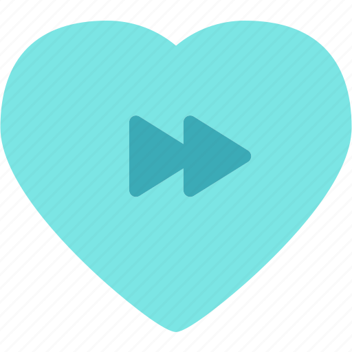Forward, heart, love, romance icon - Download on Iconfinder
