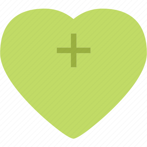 Heart, love, plus, romance icon - Download on Iconfinder