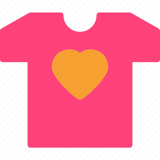Heart, love, romance, tshirt icon - Download on Iconfinder