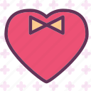gentleman, heart, love, romance icon