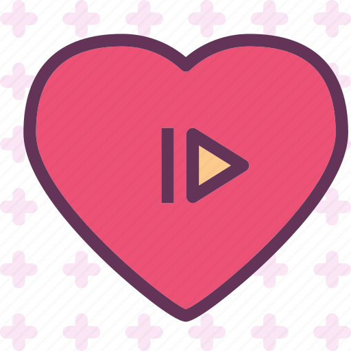 heart, love, romance, skip icon
