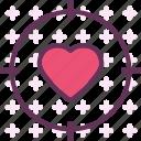 heart, love, romance, target icon