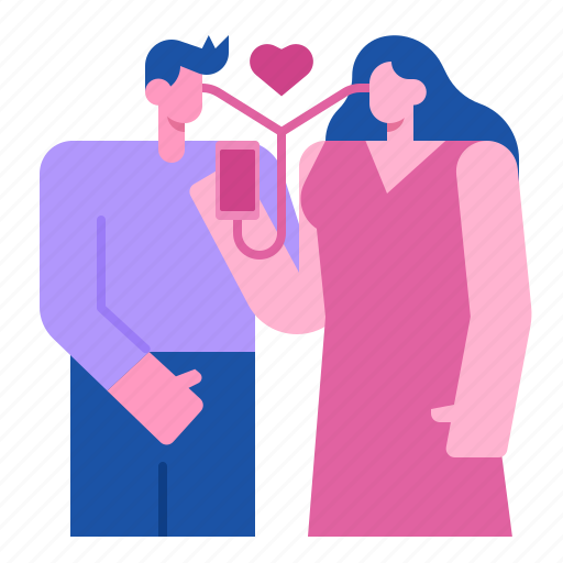 Romantic, heart, valentine, sweetheart, couple, love, music icon - Download on Iconfinder