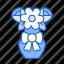 flowers, roses, pot, nature