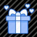 present, love, gift, birthday