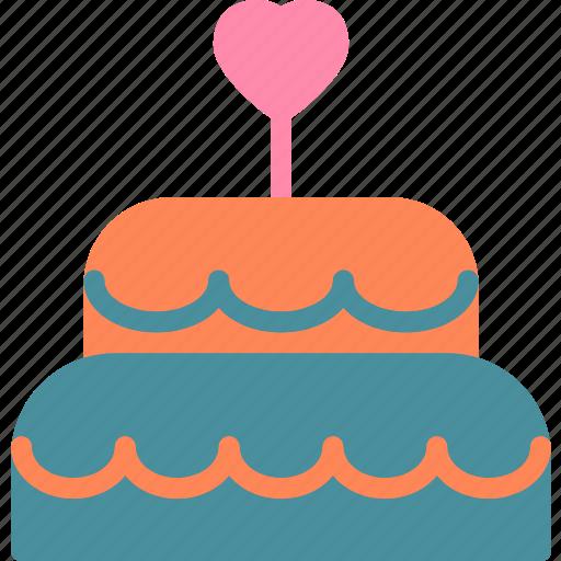 Bride, cake, mariage, wedding icon - Download on Iconfinder
