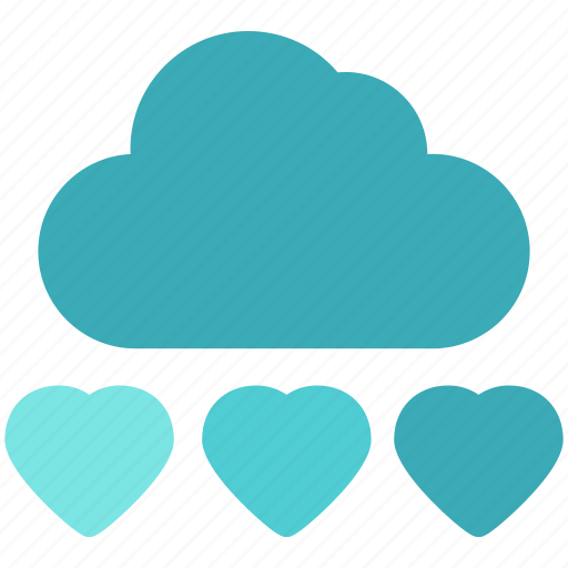 Cloud, heart, love, romance icon - Download on Iconfinder