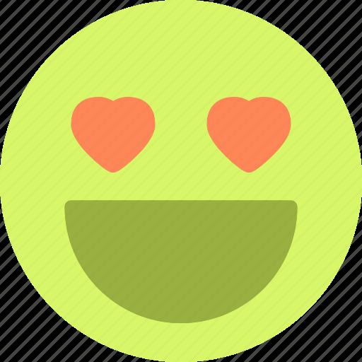 Emoticon, heart, love, romance icon - Download on Iconfinder