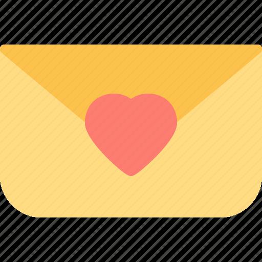 envelopemail, heart, love, romance icon