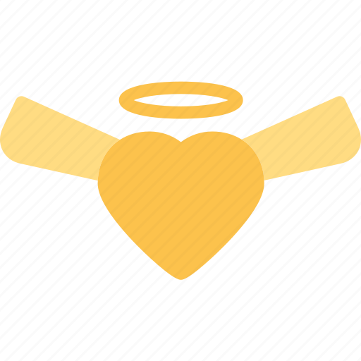 Angel, heart, love, romance icon - Download on Iconfinder