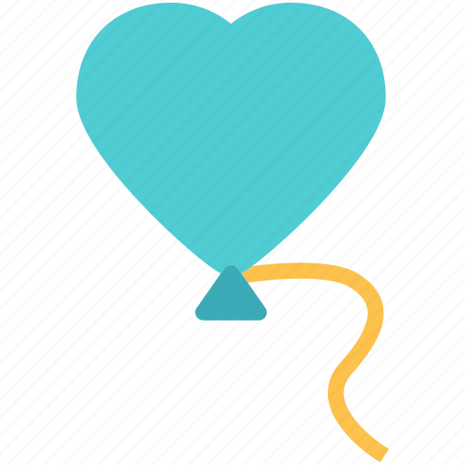 Balloon, heart, love, romance icon - Download on Iconfinder