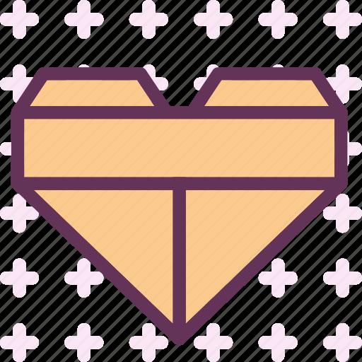 heart, love, romance, squared icon