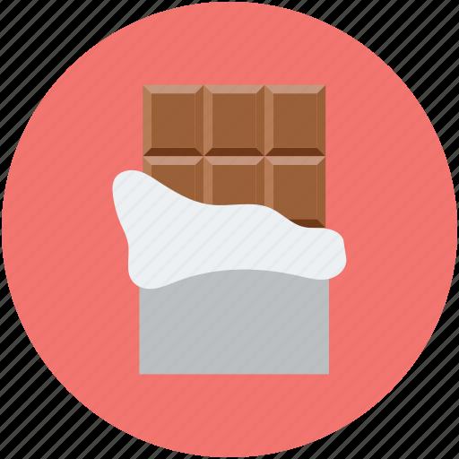 chocolate, heart, love, valentine icon