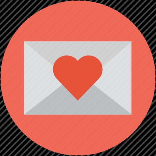 heart, love, message, valentine icon