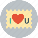 heart, love, stam, valentine icon