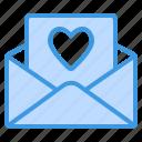 love, letter, heart, mail, message, valentine, envelope