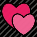 hearts, love, heart, valentine, romance, romantic, wedding