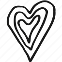 heart, love, valentine, wedding icon