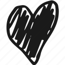 heart, love, valentines, wedding