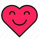 heart, interface, like, love, peace, red, shape icon