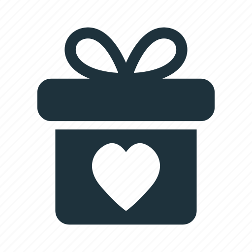 box, gift, love, present, valentine icon